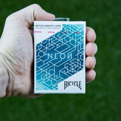Neon Cardistry (Bicycle)