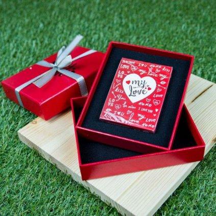 My Love karty s dárkovou krabičkou (TCC)