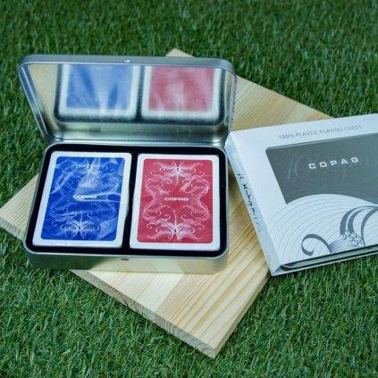 Výroční Sada Centennial - 2 balíčky Poker Size (Copag)