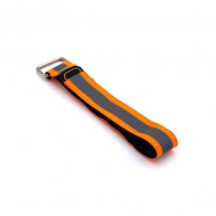 Highvis battery strap - oranžový (VivaFPV)