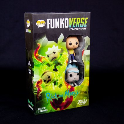Rick and Morty: Board Game Expandalone - EN (Funkoverse POP)