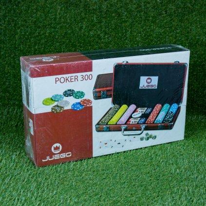 Pokerový kufřík s 300 žetony (Juego)