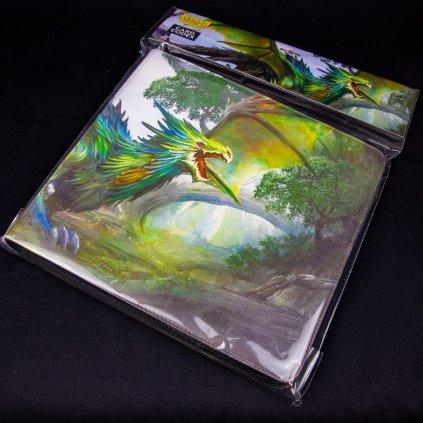 Album na 576 karet Card Codex: Zipster Olive 'Lavom' (Dragon Shield)