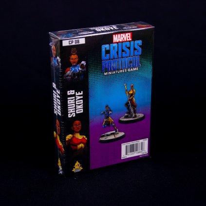 Marvel Crisis Protocol: Shuri and Okoye - EN (Atomic Mass Games)
