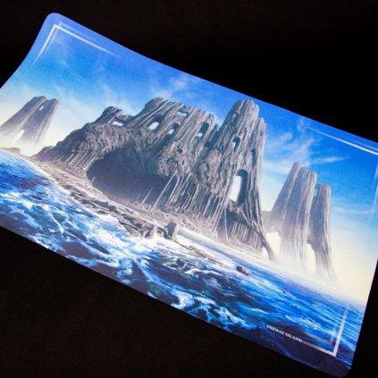 MTG podložka - playmat John Avon Art: Farway Island (Imperial Distribution)