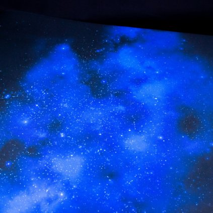 Herní podložka - Playmat: Mystic space 90 x 90 cm (Ultimate Guard)