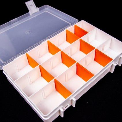 Super Box M - bílý/oranžový (LU & KA)