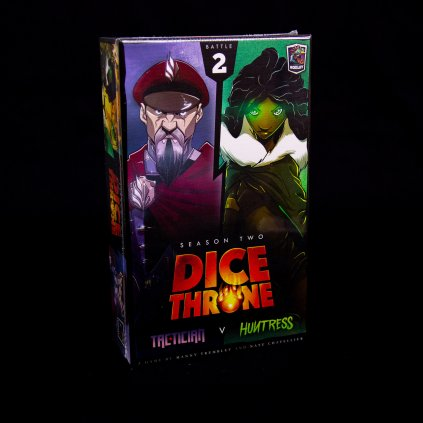 Dice Throne: Season Two – Tactician vs. Huntress - EN (Roxley)