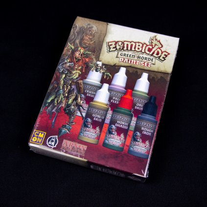 Zombicide: Green Horde Paint Set (Army Painter)