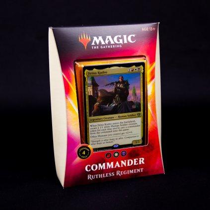 Ruthless Regiment Commander 2020 MTG (Magic: The Gathering)