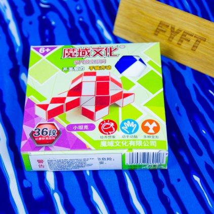 Rubikův had - 36 dílků