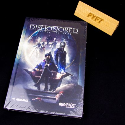 Dishonored: The Roleplaying Game Corebook - EN (Modiphius Entertainment)