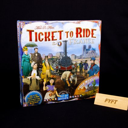 Ticket to Ride - France & Old West: Map Collection 6 - EN (Days of Wonder)