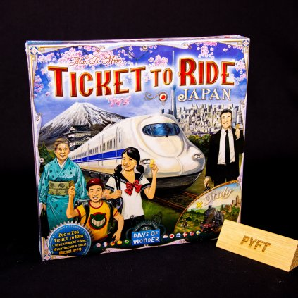 Ticket to Ride - Japan & Italy: Map Collection 7 - EN (Days of Wonder)