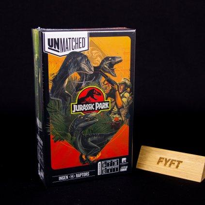 Unmatched: Jurassic Park - InGen vs Raptors - EN (Mondo)
