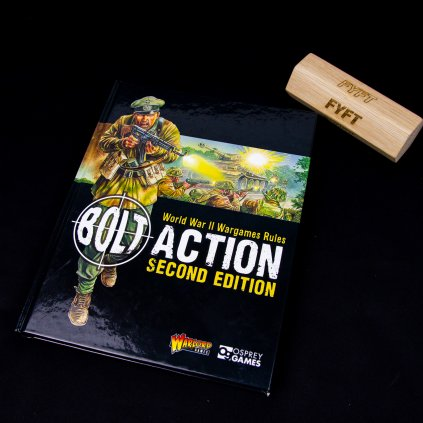Bolt Action 2nd Edition Rulebook - EN (Warlord Games)