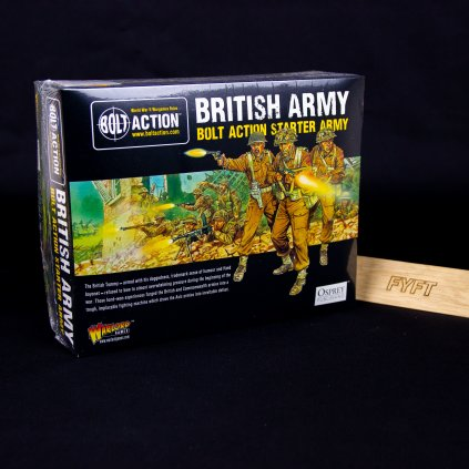 Bolt Action - British Army starter army - EN (Warlord Games)
