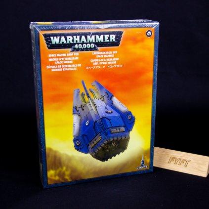Warhammer 40000: Space Marine Drop Pod