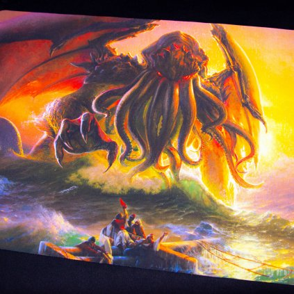 Herní podložka - Playmat: Cthulhu 61 x 35 cm (Kraken Wargames)