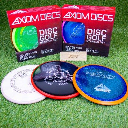 Discgolf sada Axiom Discs Premium