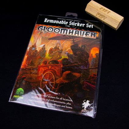 Gloomhaven - Removable Sticker Set (Sinister Fish Games)