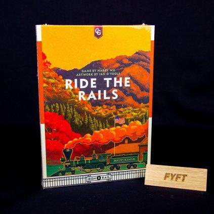 Iron Rail - Ride the Rails - EN (Capstone Games)