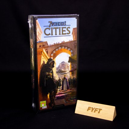 7 Wonders 2nd edition - Cities - EN (Repos Production)