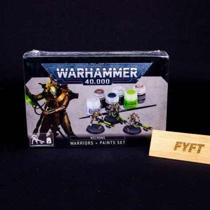 Warhammer 40000: Necrons Warriors + Paints Set