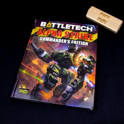 BattleTech Alpha Strike: Commander's Edition - EN (CGL)