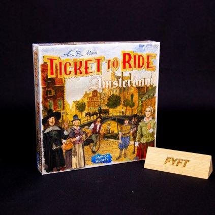 Ticket to Ride: Amsterdam - EN (Days of Wonder)