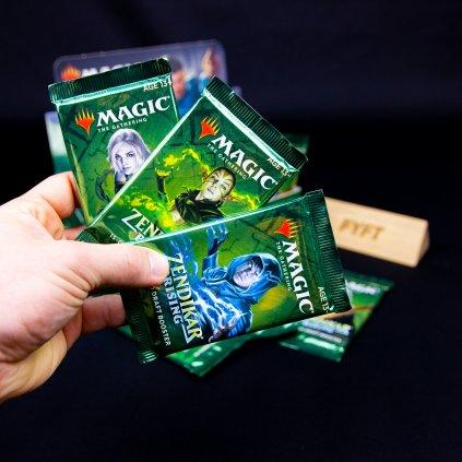 Zendikar Rising Draft Booster (Magic: The Gathering)