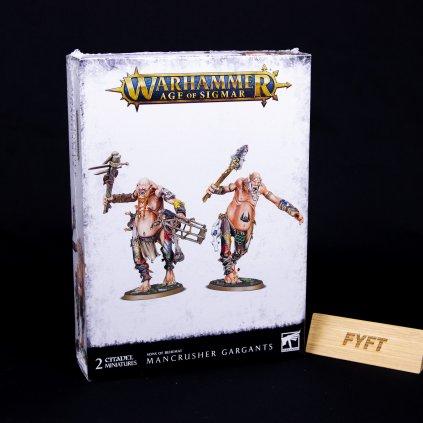 Warhammer AoS: Sons of Behemat - Mancrusher Gargants