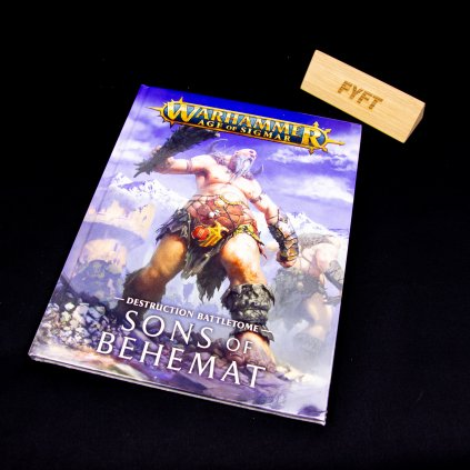 Warhammer Age of Sigmar: Battletome - Sons of Behemat