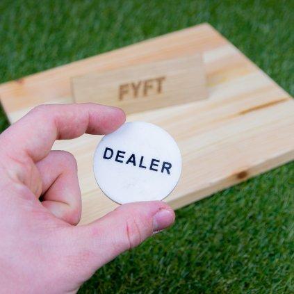 Poker - Dealer button