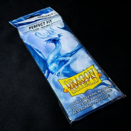 Perfect Fit Sleeves Clear Sealable (100ks) - Dragon Shield obaly na karty