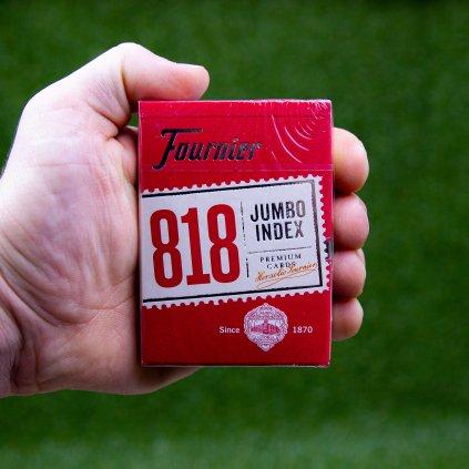 Fournier 818 Jumbo Index - pokerové karty