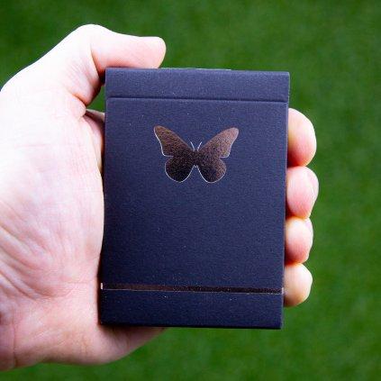 Butterfly Black and Silver - značené (Ondřej Pšenička)
