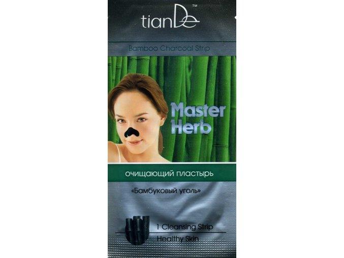 """Čistící náplast na nos """"Bambusové uhlí"""""""