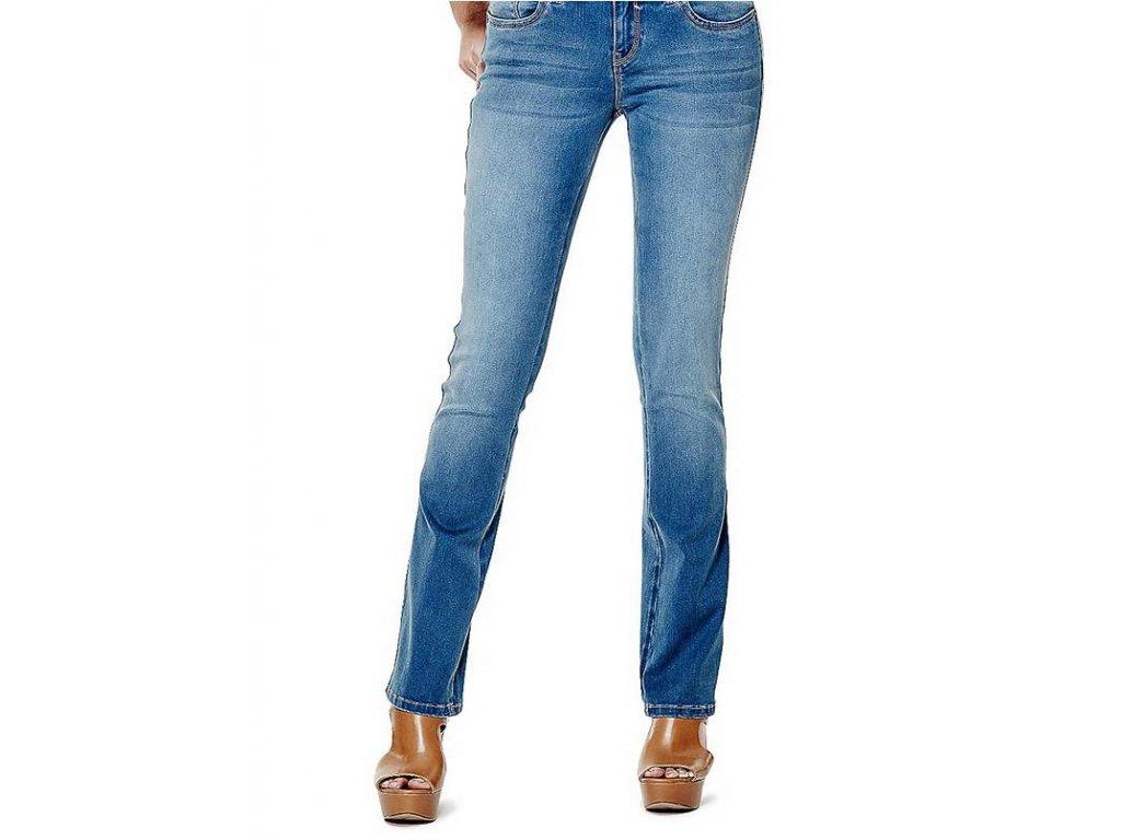 Rifle Guess Visha Slim Bootcut Jeans medium wash 1