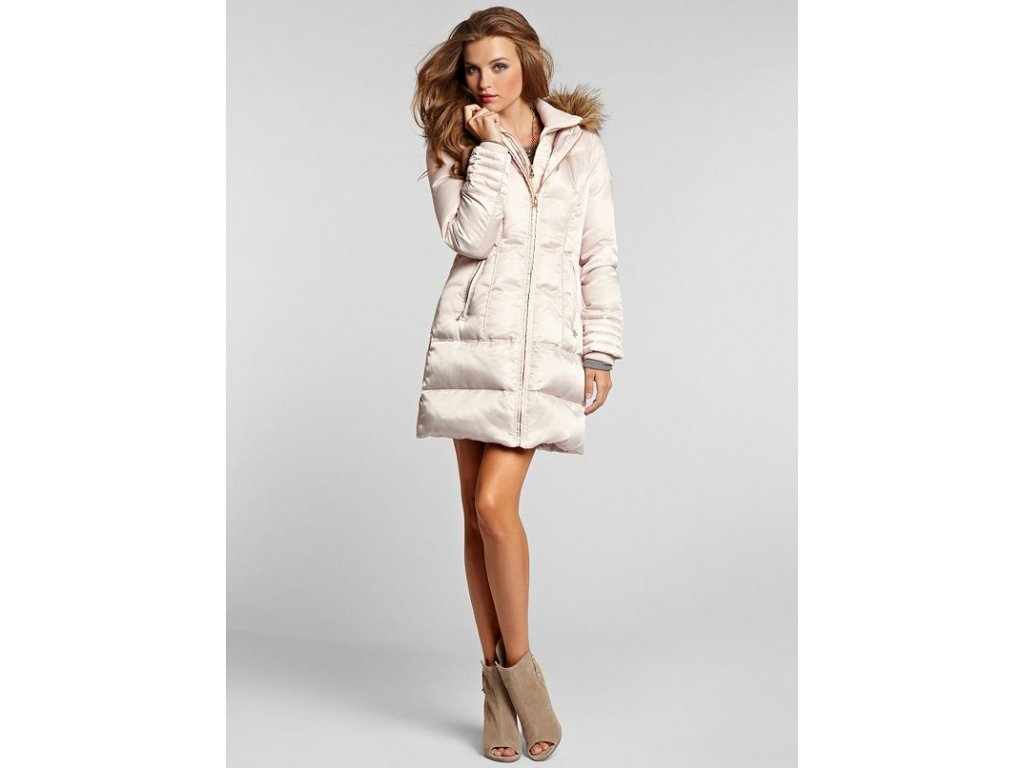 Bunda Guess West Lake Coat bezovy 1