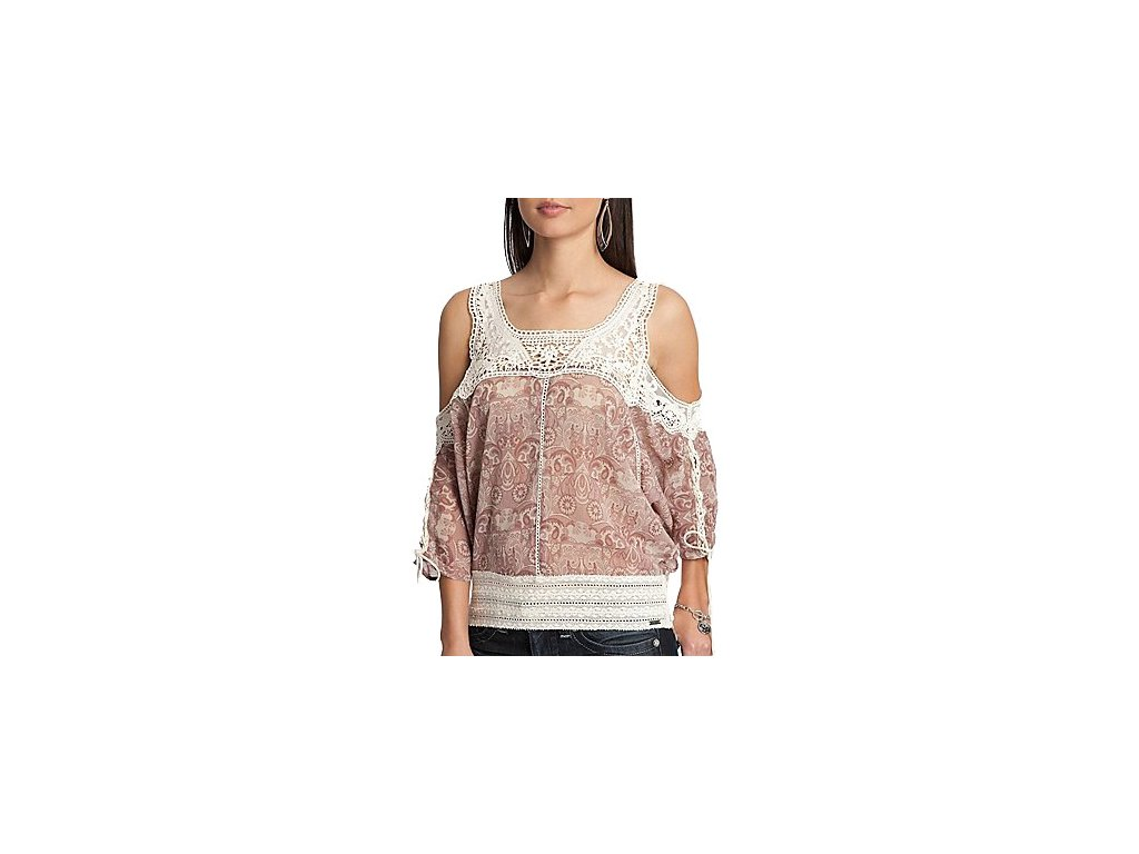Halenka GUESS Darina Top Tapestry