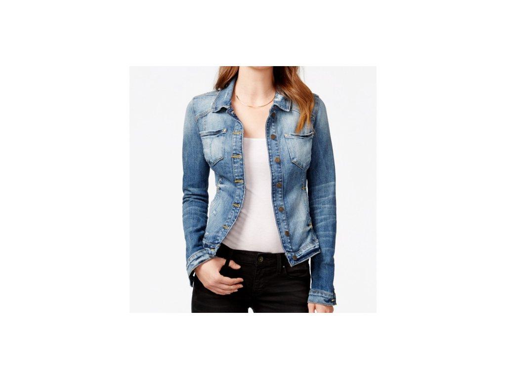 Riflová bunda Guess Tailored Denim Jacket