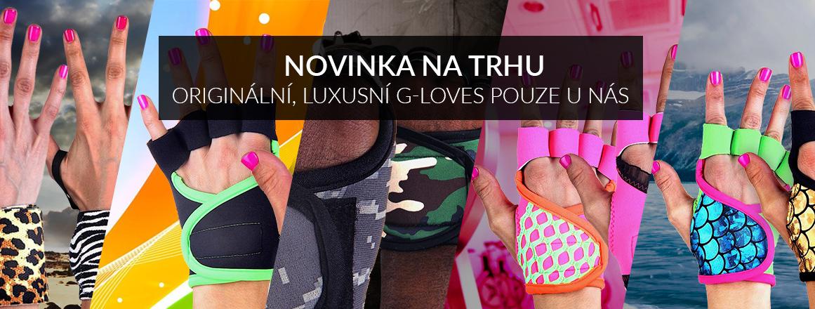 Novinka na trhu, G-loves luxusní neoprenové fitness rukavice