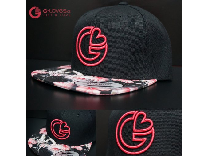 Snapback Exclusive G-Loves - PinkRose - Růžová