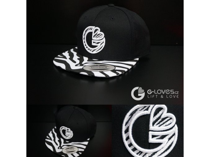 Snapback Luxury - Zebra