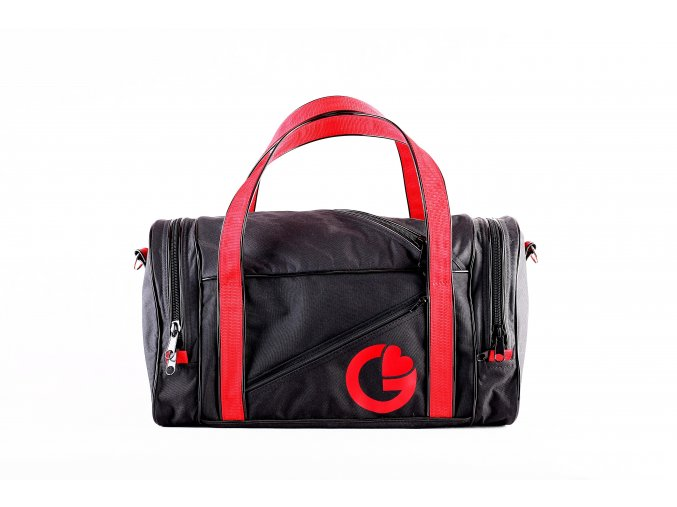 G BAG BLACK RED