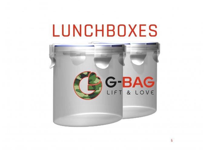 G-BAG Lunchbox 2ks