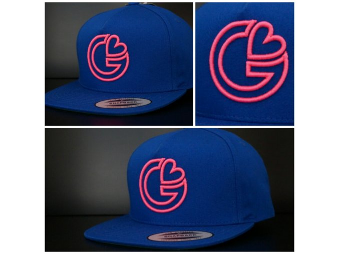 Snapback Classic G-loves - Modro - růžová