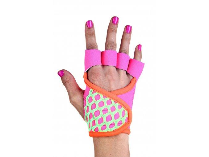 Dámské fitness rukavice - Pretty in Pink - RAD