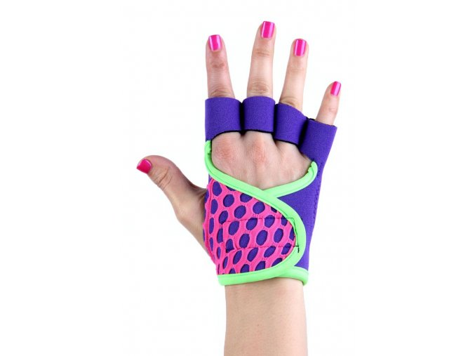 Dámské fitness rukavice - Purple Rain - RAD